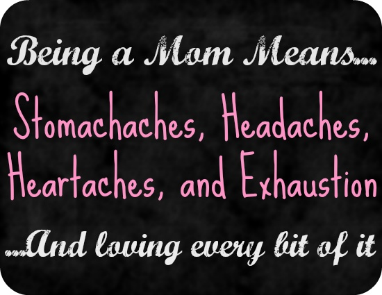 Being A Mother Quote 3 Picture Quote #1