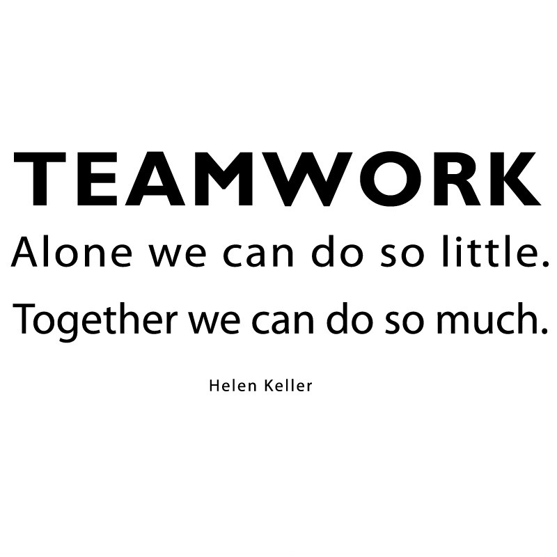 Teamwork Quote 3 Picture Quote #1