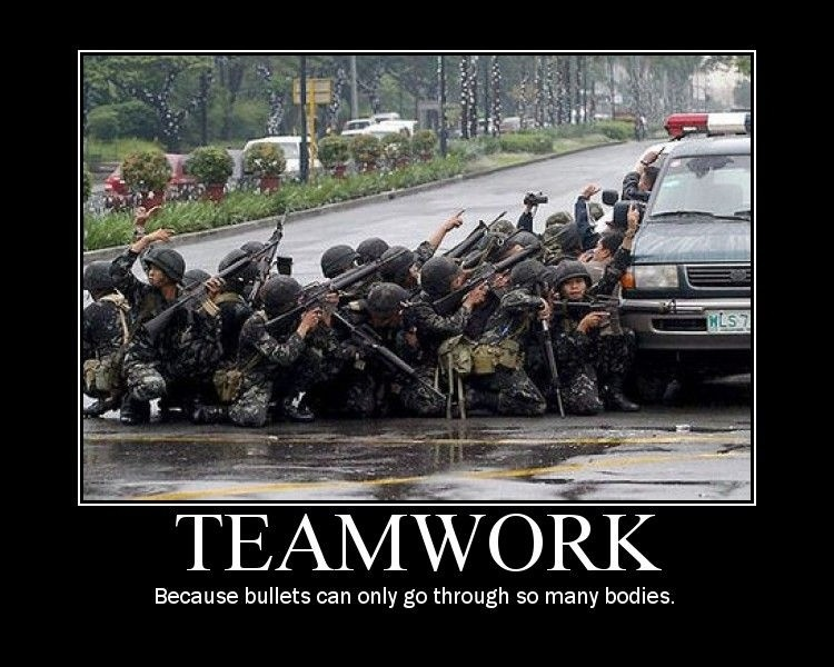 Teamwork Quote 7 Picture Quote #1