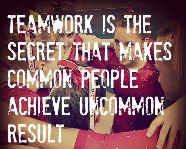 Effective Teamwork Quote 1 Picture Quote #1