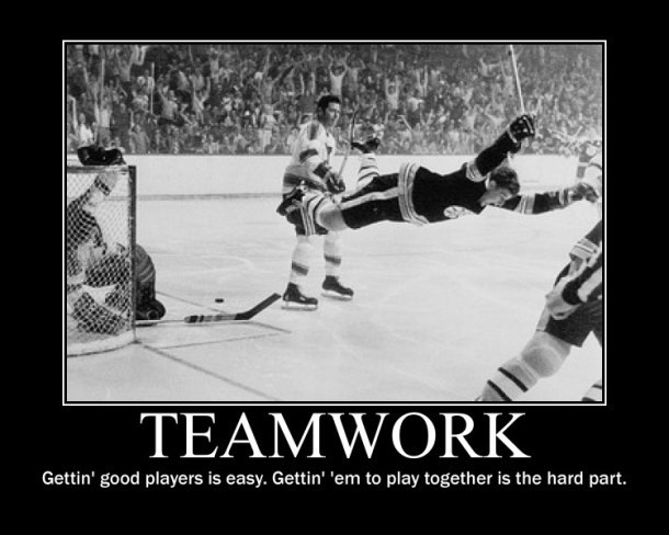 Effective Teamwork Quote 2 Picture Quote #1