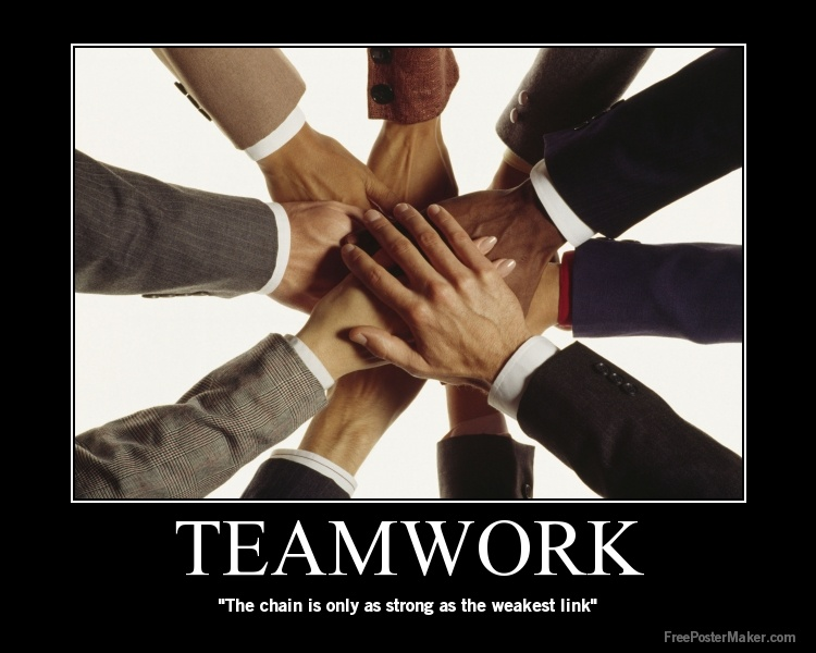 Effective Teamwork Quote 3 Picture Quote #1