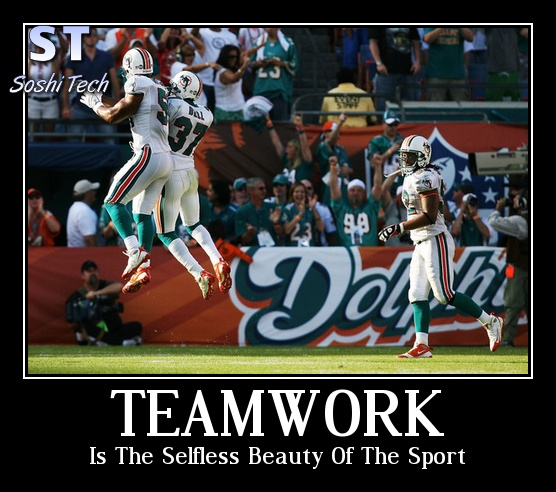 Sports Teamwork Quote 1 Picture Quote #1