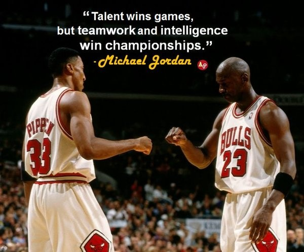 Sports Teamwork Quote 3 Picture Quote #1