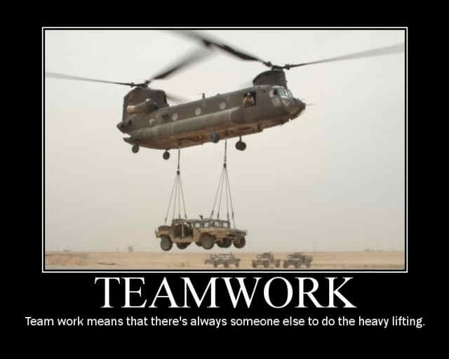 Teamwork Quote 10 Picture Quote #1