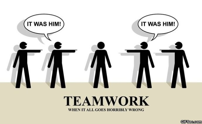 Funny Teamwork Quote For Work  Picture Quote