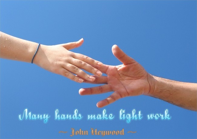Working Together Teamwork Quote 1 Picture Quote #1