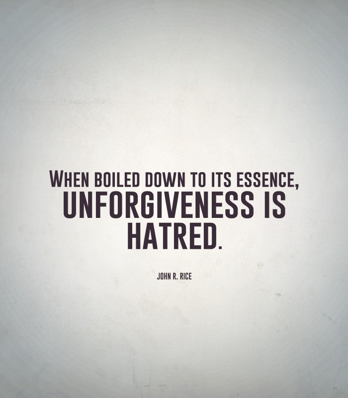 Unforgiveness Quote 2 Picture Quote #1