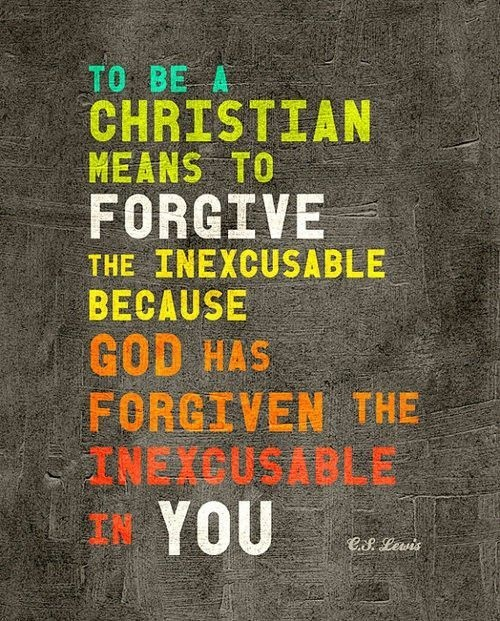 Forgiveness Quote From The Bible | Quote Number 566123 ...