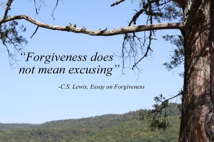 Cs Lewis On Forgiveness Quote 1 Picture Quote #1