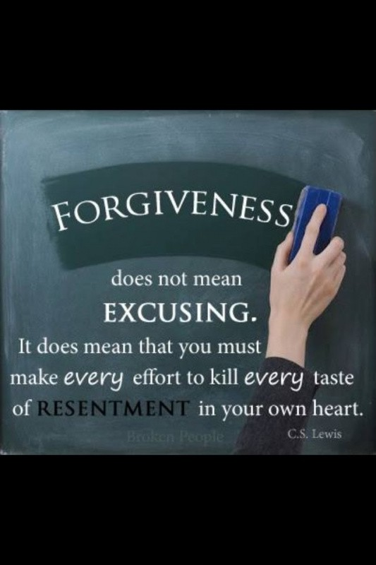 Cs Lewis On Forgiveness Quote 2 Picture Quote #1