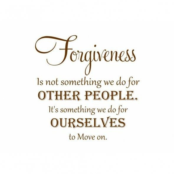 Wise Forgiveness Quote 1 Picture Quote #1