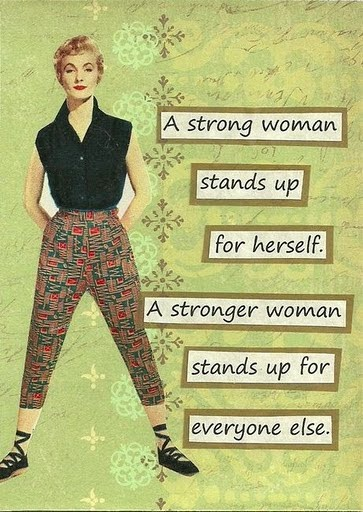 Encouraging Quote For Women 1 Picture Quote #1