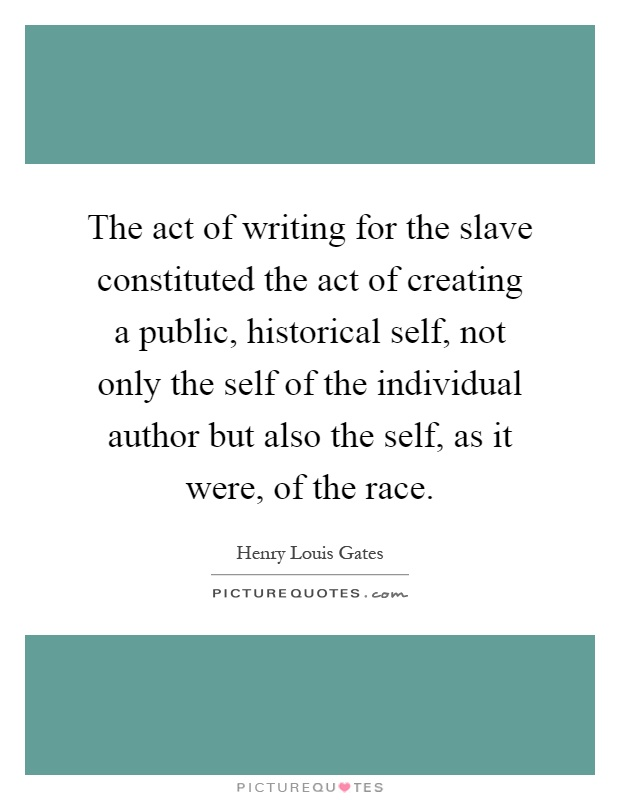 creating slave laws essay Slavery in the united states was the legal institution of human in the universal law of slavery in the interest of creating a self-reproducing.