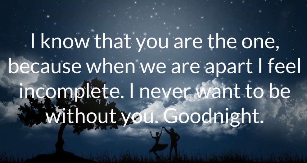 romantic good night quote 2 picture quote 1 romantic good night quote quote number 566771 picture quotes