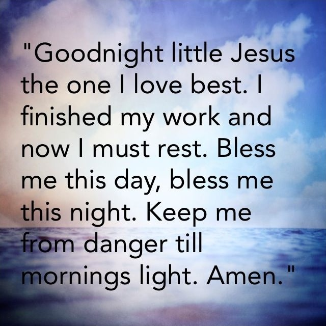Good Night Prayer Quote 1 Picture Quote #1