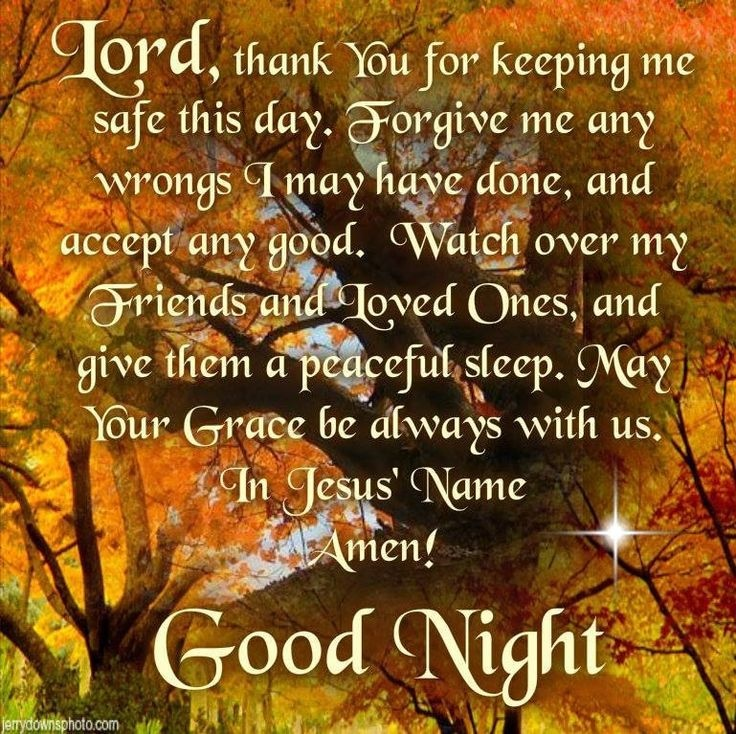 Good Night Prayer Quote 2 Picture Quote #1