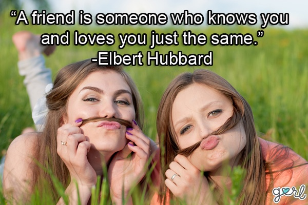 Cute Best Friends Forever Quote 1 Picture Quote #1