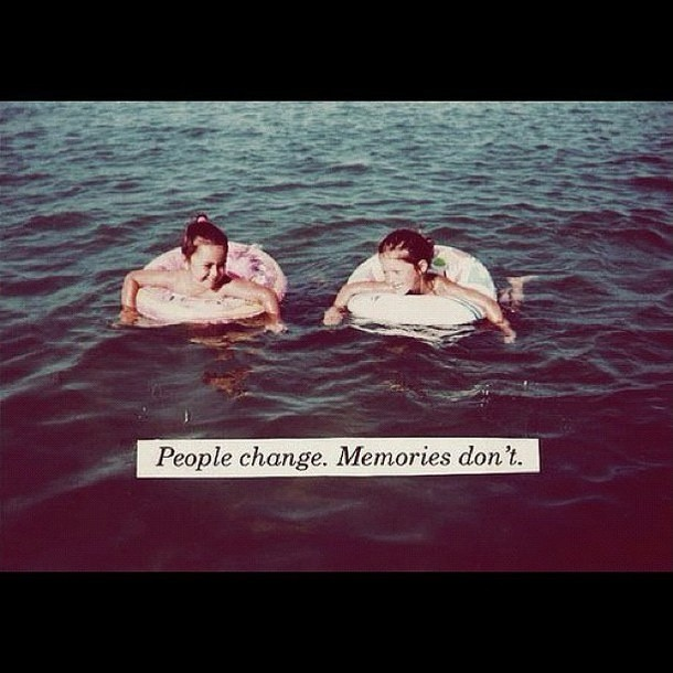 Best Friends Change Quote 1 Picture Quote #1