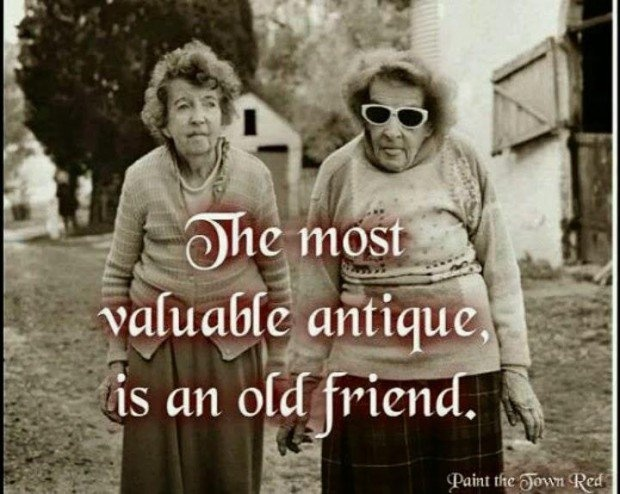 Old Lady Best Friends Quote 1 Picture Quote #1