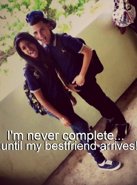 Boy And Girl Best Friends Forever Quote 1 Picture Quote #1
