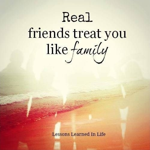 Best Friends Like Family Quote 1 Picture Quote #1
