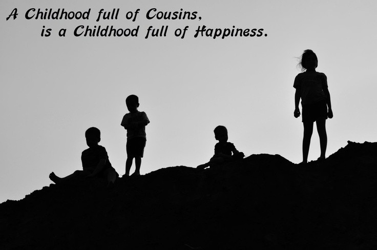 Cousins Are Best Friends Quote 1 Picture Quote #1