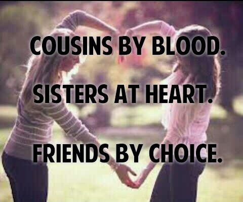 Cousins Are Best Friends Quote 4 Picture Quote #1