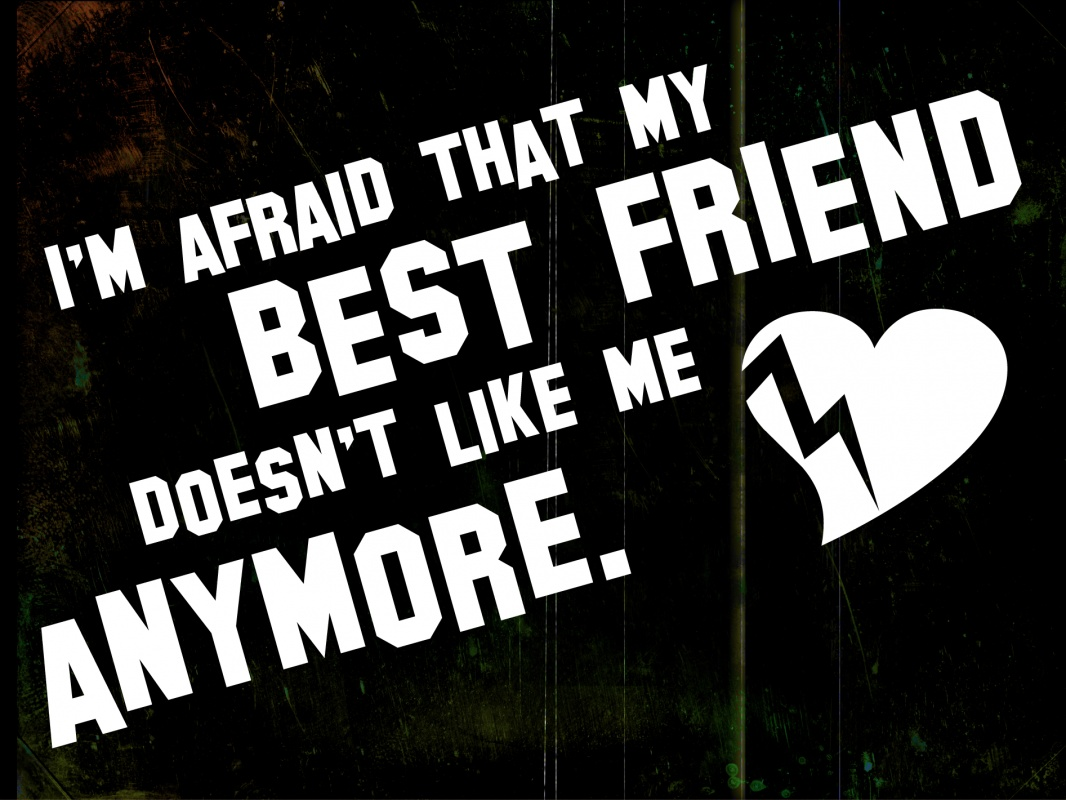 Not Best Friends Anymore Quote 2 Picture Quote #1