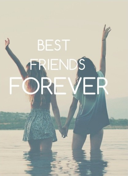 Always And Forever Best Friends Quote 1 Picture Quote #1