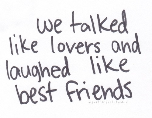 Quote About Best Friends Becoming Lovers