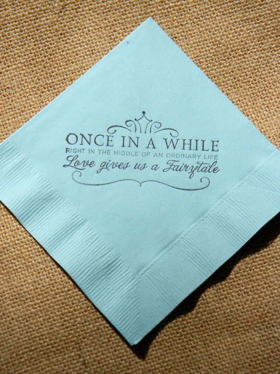 Wedding Quote For Napkins 2 Picture Quote #1