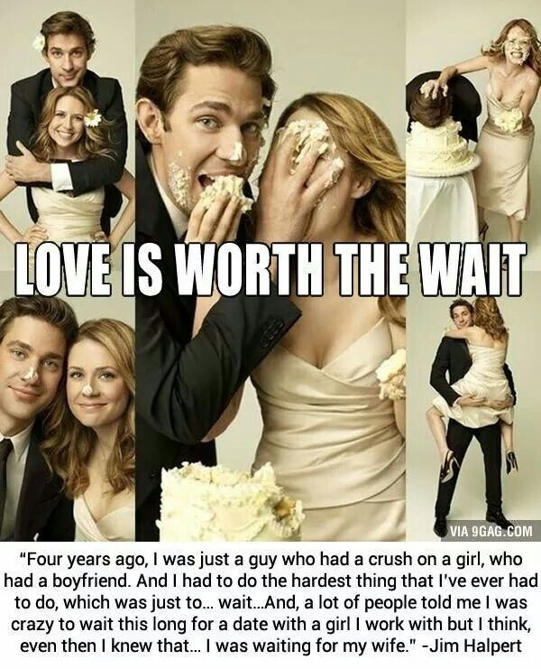 Jim And Pam Wedding Quote 1 Picture Quote #1