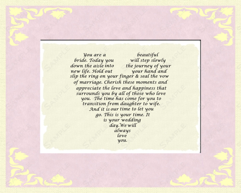 Wedding Quote Poems And Daugther 1 Picture Quote #1