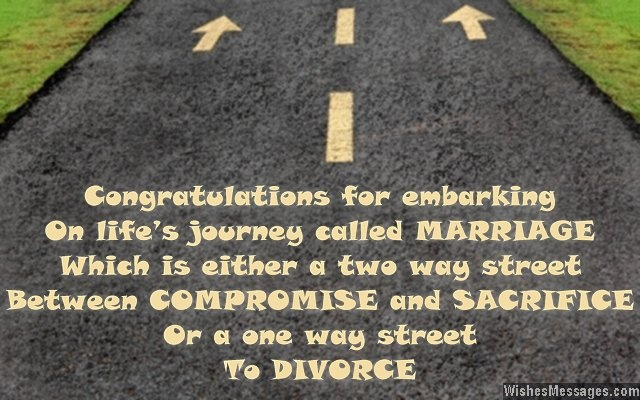 Funny Wedding Quote For Newlyweds 3 Picture Quote #1