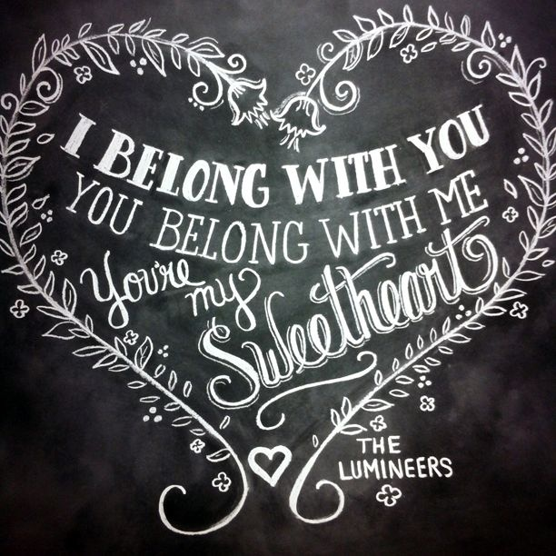 Chalkboard Wedding Quote 1 Picture Quote #1
