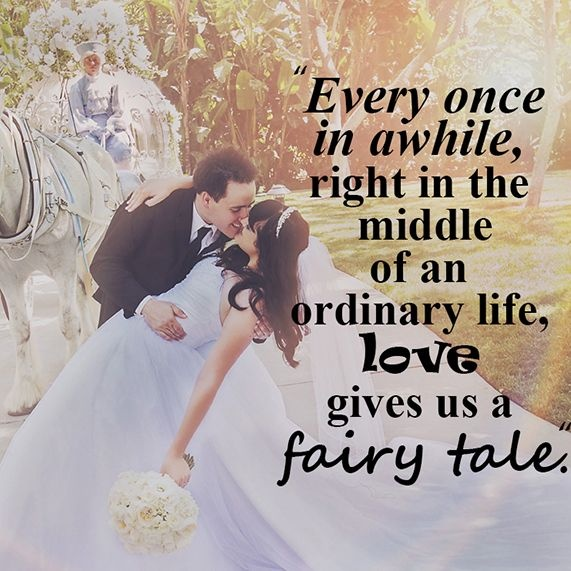 Fairy Tale Wedding Quote 2 Picture Quote #1