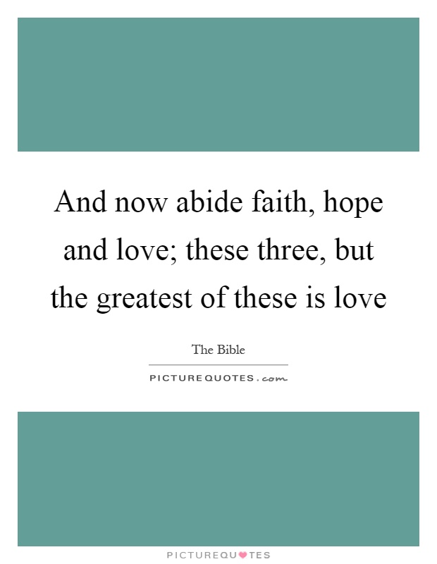 Hope And Love Quotes & Sayings  Hope And Love Picture Quotes