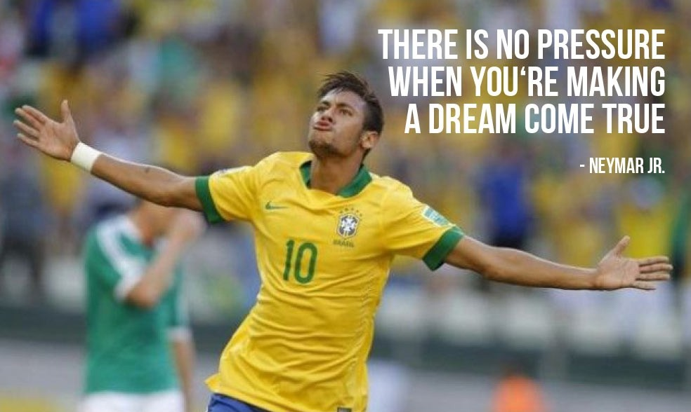 Neymar Soccer Quote 1 Picture Quote #1