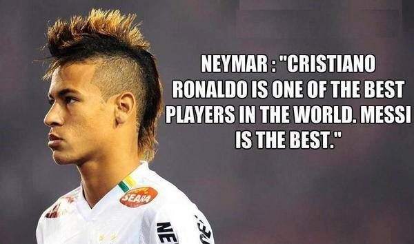 Neymar Soccer Quote 2 Picture Quote #1