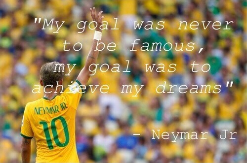 Neymar Soccer Quote 3 Picture Quote #1