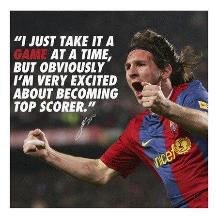 Messi Soccer Quote 1 Picture Quote #1