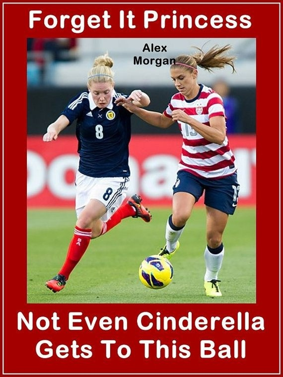 Alex Morgan Soccer Quote 1 Picture Quote #1