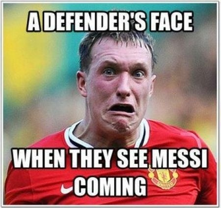 Funny Soccer Quotes | Funny Soccer Quote Messi Quote Number 568863 Picture Quotes