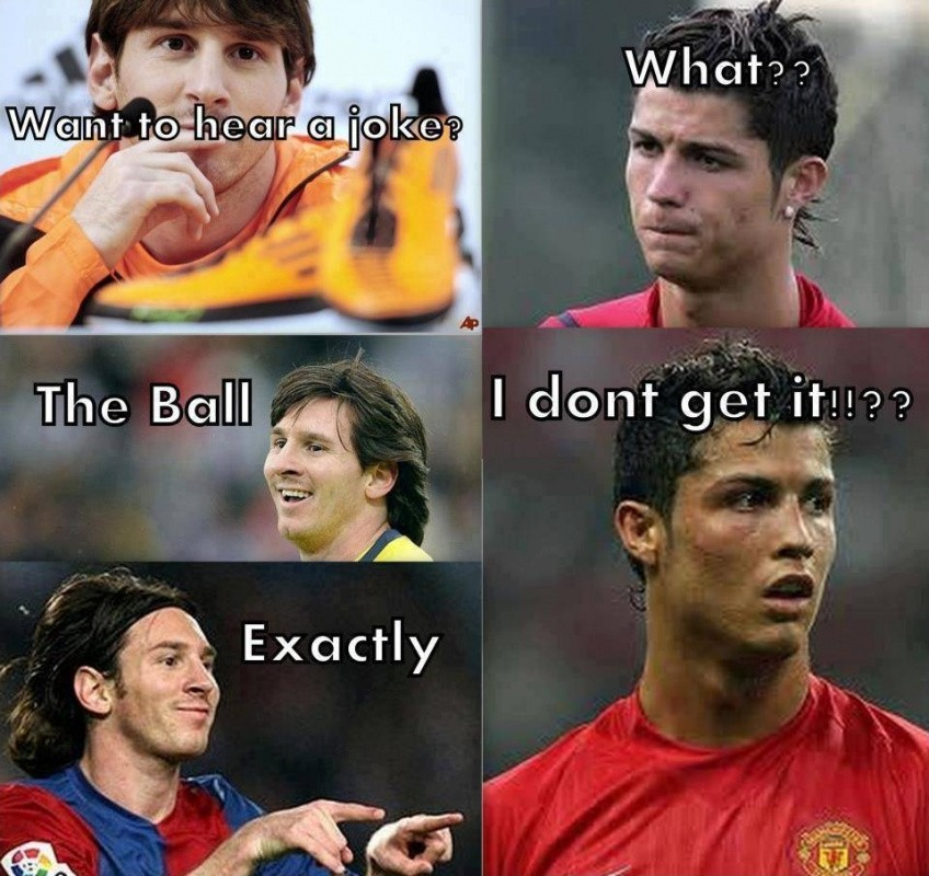 Funny Soccer Quote Messi 2 Picture Quote #1