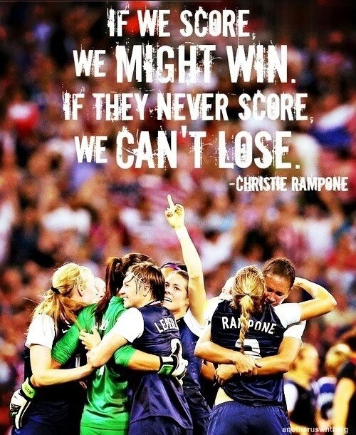 Defense Soccer Quote 1 Picture Quote #1