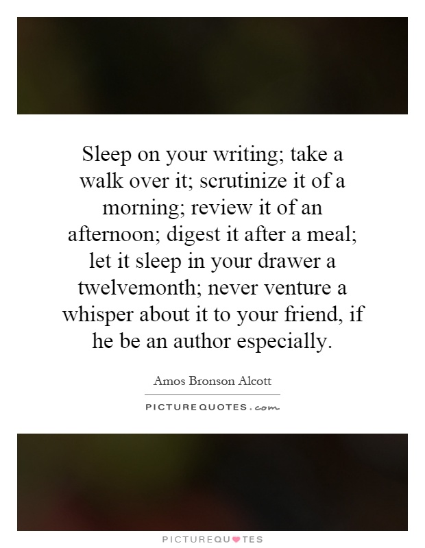 Writing in your sleep