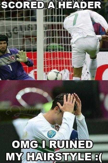 Funny Soccer Quote Ronaldo 2 Picture Quote #1