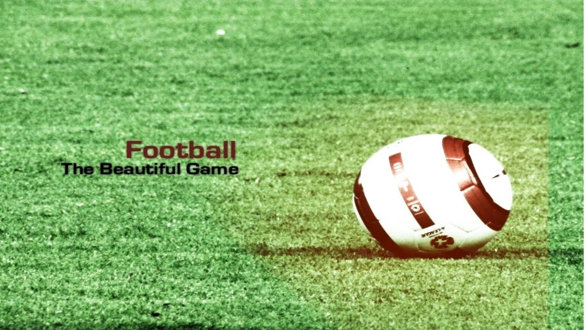 Football. The beautiful game Picture Quote #2
