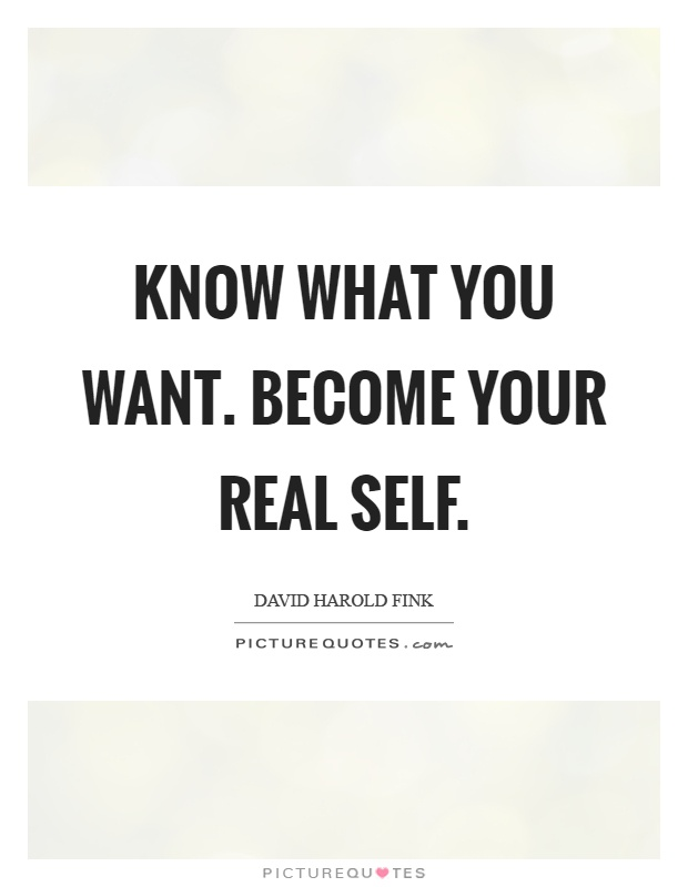 Real self quotes